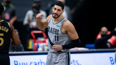Portland Trail Blazers center Enes Kanter