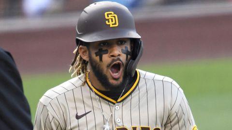 San Diego Padres shortstop Fernando Tatis Jr.
