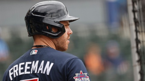 Atlanta Braves first baseman Freddie Freeman