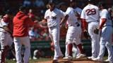 Boston Red Sox starting pitcher Garrett Richards