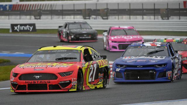 NASCAR driver Gray Gaulding