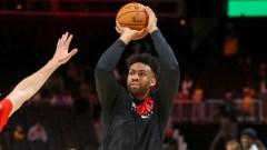 Atlanta Hawks forward Jabari Parker