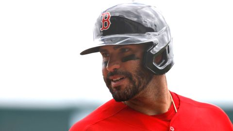 Boston Red Sox player J.D. Martinez