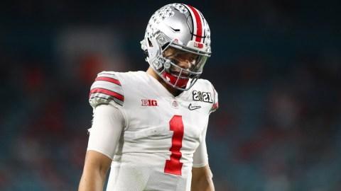 Former Ohio State Buckeyes quarterback Justin Fields
