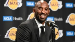 Former Lakers player Kobe Bryant