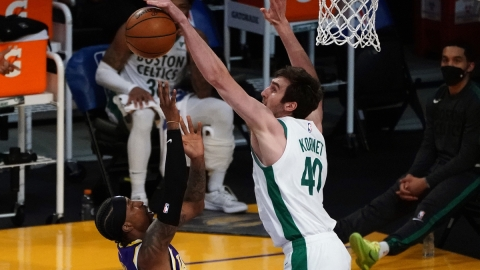 Boston Celtics center Luke Kornet
