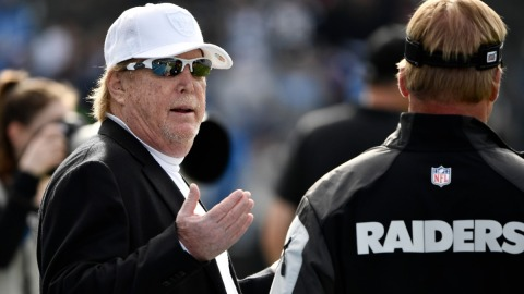 Las Vegas Raiders owner Mark Davis