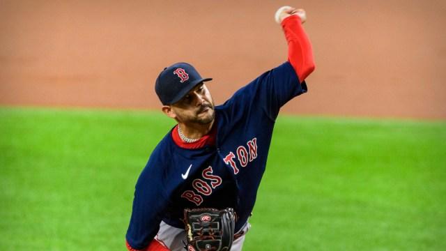 Boston Red Sox starting pitcher Martin Perez