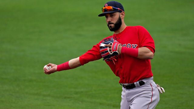 Boston Red Sox player Marwin Gonzalez