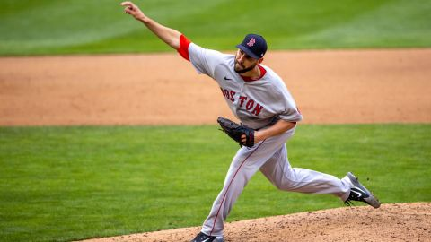 Boston Red Sox pitcher Matt Barnes