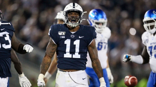 Penn State Nittany Lions linebacker Micah Parsons