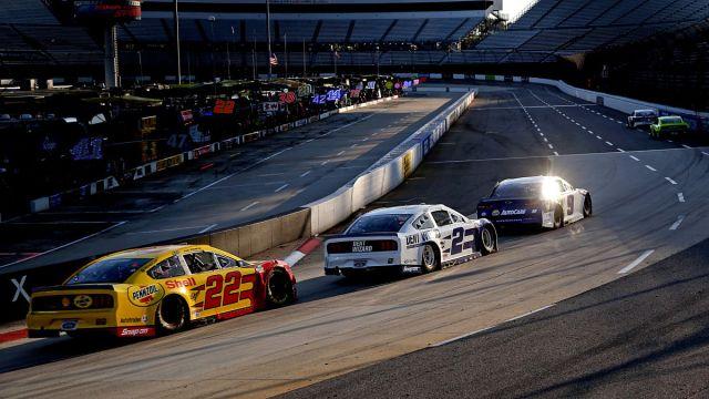 NASCAR race at Martinsville Speedway