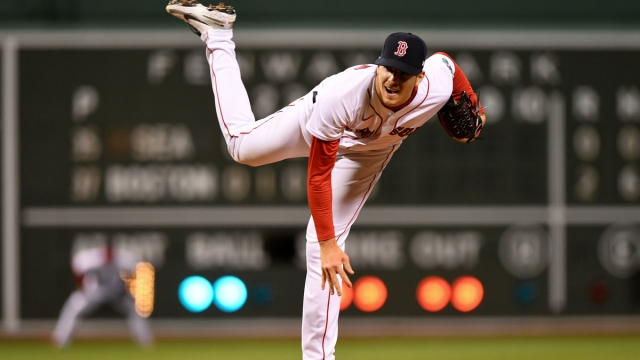 Boston Red Sox starting pitcher Nick Pivetta
