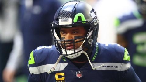 Seattle Seahawks quarterback Russell Wilson