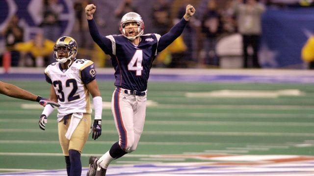 Former NFL kicker Adam Vinatieri