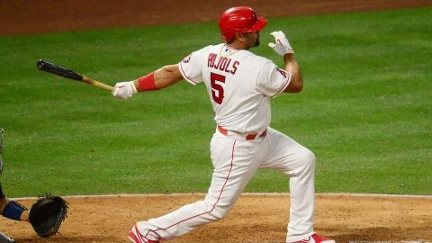 Major League Baseball infielder Albert Pujols