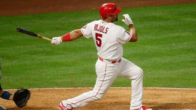 Major League Baseball infielder Albert Pujols