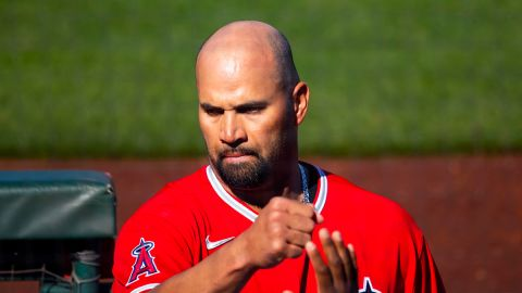 Los Angeles Angels slugger Albert Pujols