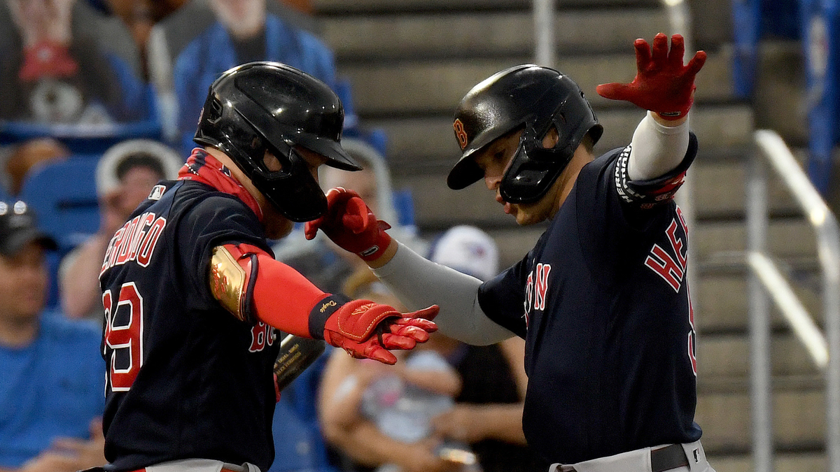 Red Sox Have Healthy Mix Of Offensive Power And Effective Pitching