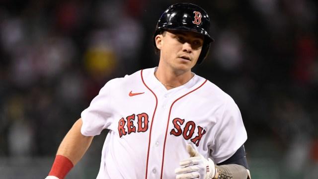 Boston Red Sox first baseman Bobby Dalbec