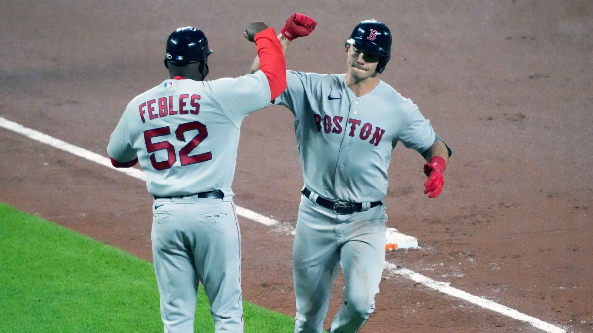 Bobby Dalbec Details Phone Call With Dustin Pedroia About Early Slump