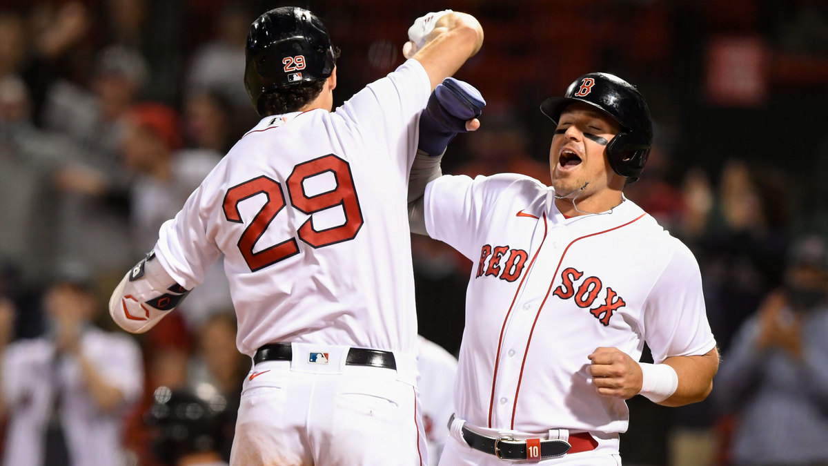 Hunter Renfroe Continues Tearing Cover Off Ball For Red Sox In May