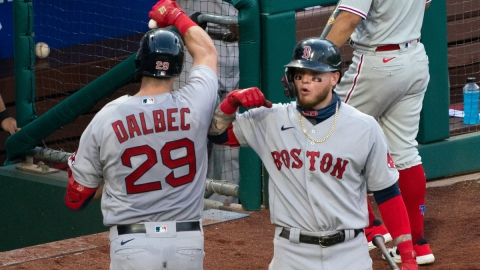 Boston Red Sox Infielder Bobby Dalbec