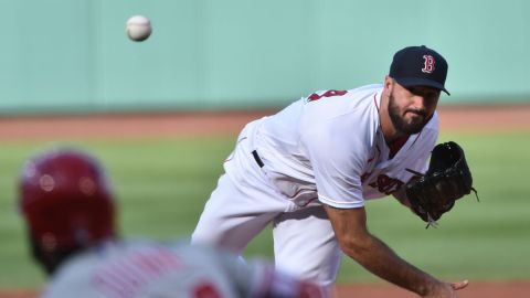 Boston Red Sox pitcher Brandon Workman