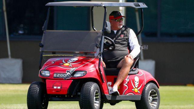 Tampa Bay Buccaneers head coach Bruce Arians
