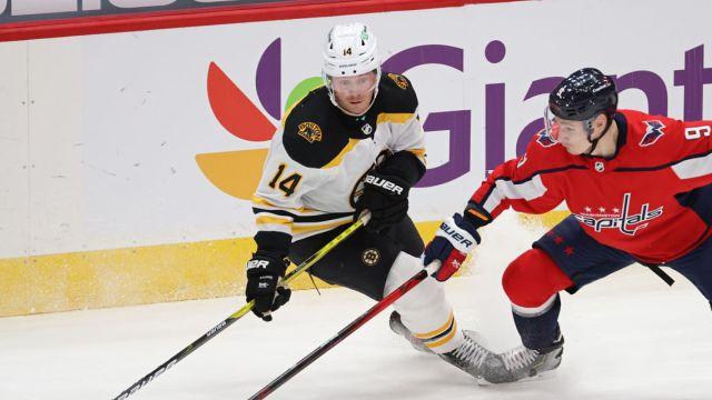Bruins forward Chris Wagner