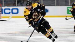 Boston Bruins right wing Craig Smith