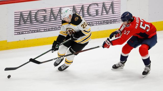 Boston Bruins center Curtis Lazar