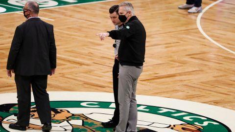 Boston Celtics president Danny Ainge