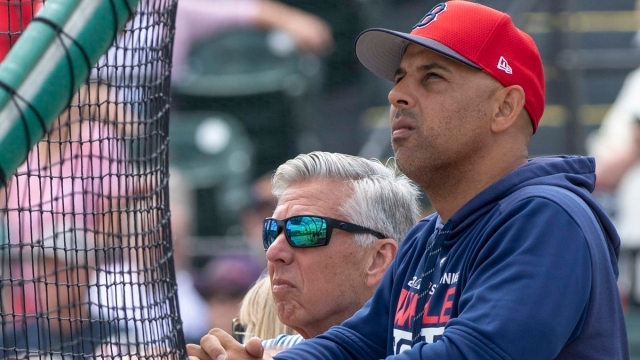 Philadelphia Phillies President Of Baseball Operations Dave Dombrowski And Boston Red Sox Manager Alex Cora