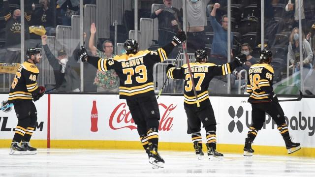Boston Bruins defenseman David Pastrnak