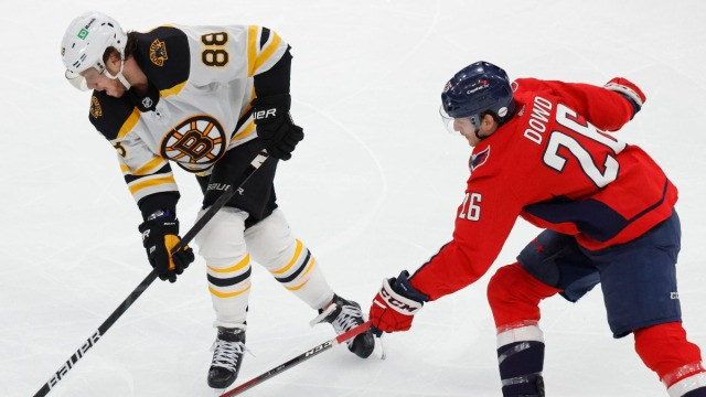 Boston Bruins Right-Winger David Pastrnak