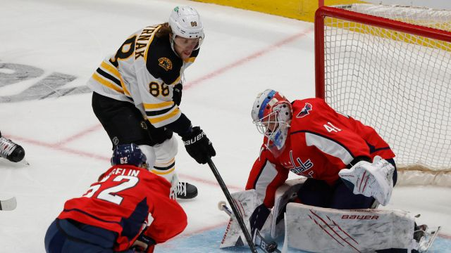 NHL: Stanley Cup Playoffs-Boston Bruins at Washington Capitals