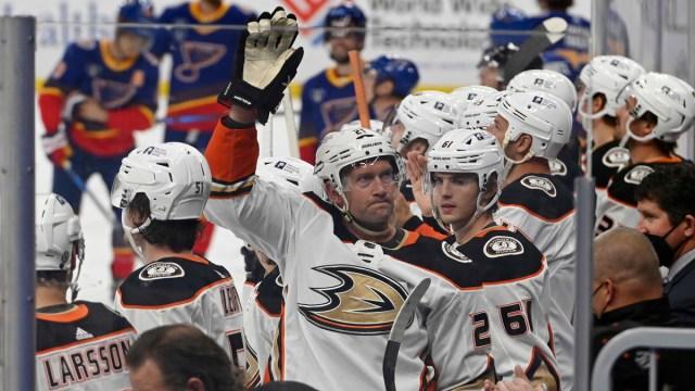 Anaheim Ducks Forward David Backes