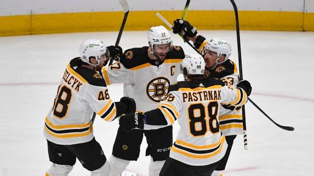 Boston Bruins Forward David Pastrnak