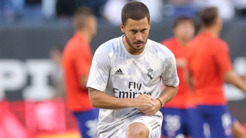 Real Madrid forward Eden Hazard