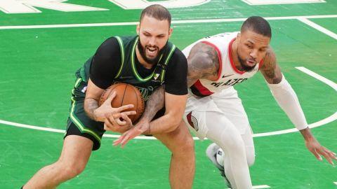 Celtics Shooting Guard Evan Fournier