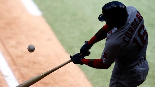 Boston Red Sox left fielder Franchy Cordero
