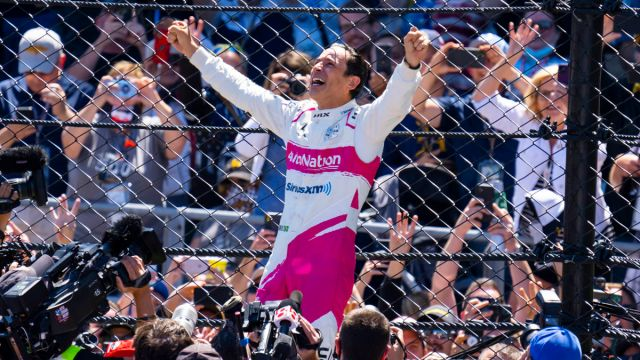 IndyCar driver Helio Castroneves