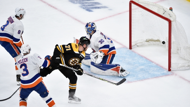 New York Islanders goalie Ilya Sorokin