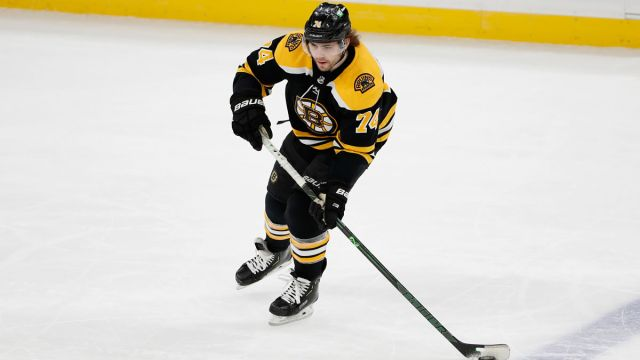 Boston Bruins wing Jake DeBrusk