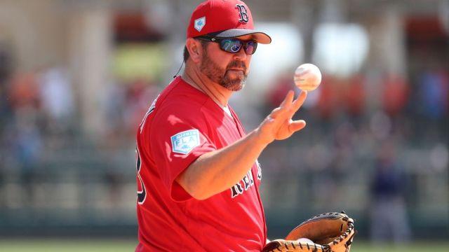 Boston Red Sox game-planning coordinator Jason Varitek