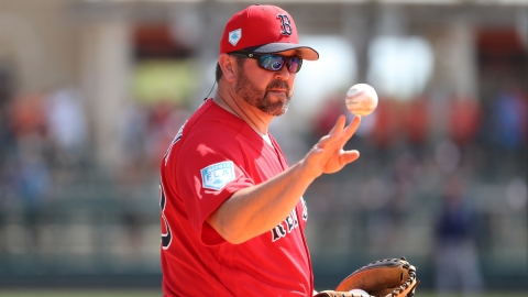 Boston Red Sox Game Planning Coordinator Jason Varitek