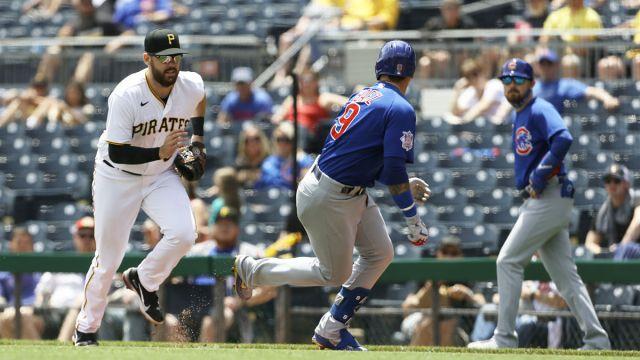 Chicago Cubs shortstop Javier Báez