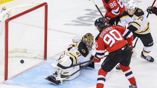 New Jersey Devils Center Jesper Boqvist