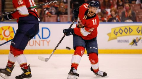 Florida Panthers left wing Jonathan Huberdeau